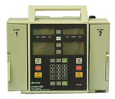 Baxter Travenol 6300 Infusion Pump